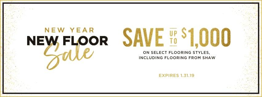 New year new floor sale | Choice Floor Center, Inc.