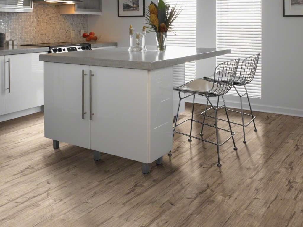 Waterproof Kitchen floor design   Choice Floor Center, Inc.