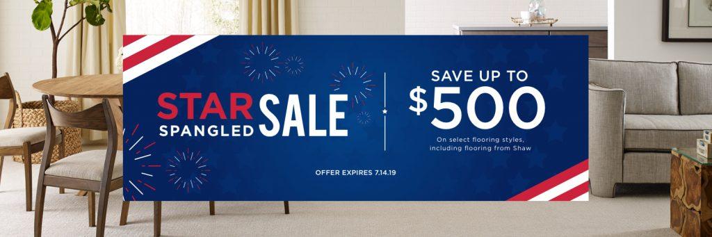 Star Sale Spangled sale | Choice Floor Center, Inc.